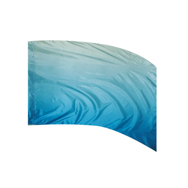 Shaded Poly Silk Flag BLUE