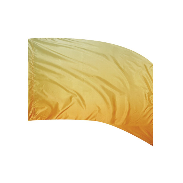 Shaded Poly Silk Flag YELLOW