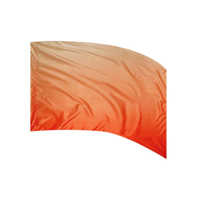 Shaded Poly Silk Flag ORANGE