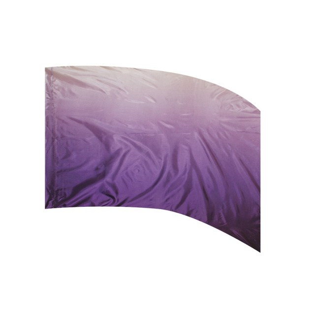 Shaded Poly Silk Flag PURPLE
