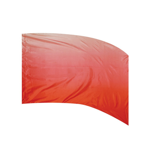 Shaded Poly Silk Flag RED