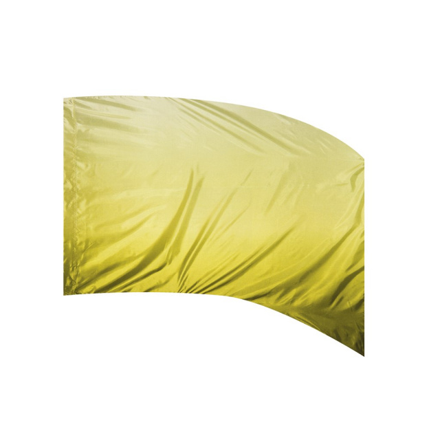 Shaded Poly Silk Flag LIME